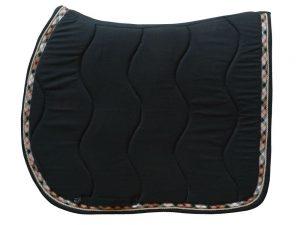 tapis de selle noir burberry